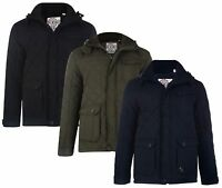 Soul Star Padded Quilted Jacket New Men's Warm Hooded Winter Quilt Design Coat