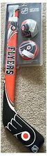 Philadelphia Flyers NHL Soft Ice Hockey Stick Ball & Puck Set