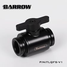 "Barrow G1/4"" Matte Black Mini Valve"