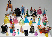 Lot of 30 Disney Princesses Characters Figures Small Plastic Toys