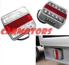 2Pcs 10 LED Waterproof Stop Rear Tail Indicator Light E-Marked Trailer Truck Ute