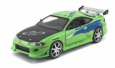 JADA 1/24 DISPLAY FAST & FURIOUS BRIAN'S 1995 MITSUBISHI ECLIPSE DIE-CAST 98205