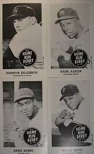 1959 HOME RUN DERBY REPRINT SET MANTLE AARON MAYS