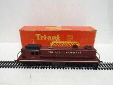 TRIANG R155T ROVEX TC DIESEL SWITCHER LOCO 5007 MAROON RARE BOXED   (OO337)