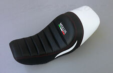 Honda MSX GROM 125 Aftermarket Custom Sports Seat White / Kevlar  2012-15