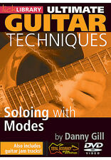 Lick Library ULTIMATE GUITAR TECHNIQUES - SOLOING WITH MODES Video Lessons DVD