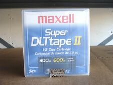 Maxell Super DLT Tape II 1/2'' Tape Cartridge 300/600GB