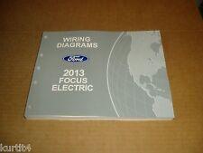 2013 Ford Focus Electric WIRING DIAGRAM service shop dealer repair manual