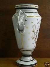 vase religieux IHS 19e porcelaine paris religiöse vaso religiosi religious 19th