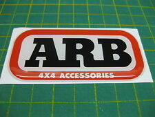 1 Domed ARB sticker 94mm x 45mm All Models