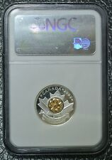 CANADIAN GEM 2004 25¢ RCM ANNUAL REPORT POPPY - NGC PF69 ULTRA CAMEO - Nice Coin