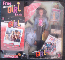 BARBIE GENERATION GIRL Series 1 c1998 LARA Sealed Box with Free Book