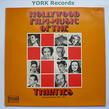 HOLLYWOOD FILM-MUSIC OF THE THIRTIES - Various - Ex Con LP Record Historia H 640