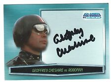 Big Screen Doctor Who Autograph Card A7 Geoffrey Cheshire Strictly Ink 2002 G+