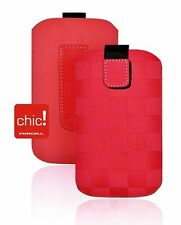 Forcell CUSTODIA CELLULARE CHIC MOTO per iPHONE 3G/Samsung i900 OMNIA i