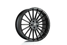 BMW X6M X5M F85 F86 22x10 22x12 HAMANN ANNIVERSERY EVO BLACK WHEEL SET GENUINE