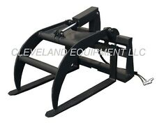 PALLET FORK GRAPPLE SKID STEER LOADER TRACTOR ATTACHMENT New Holland Caterpillar