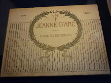 JEANNE D' ARC PAR  M. BOUTET DE MONVEL FRENCH LANGUAGE