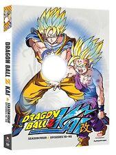 Dragon Ball Z Kai: Dragonball Z Kai Season 4 Four (DVD, 2013, 4-Disc Set)