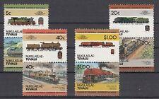 Eisenbahn - Lokomotiven  Tuvalu Nukulaelae  17 - 24  **  (mnh)