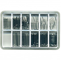 Orologio Bracciale Split Pins Assortimento (200) DIAMETRO 0.80mm TG 6-20mm - my279