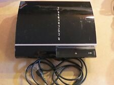 PS3 Sony PlayStation 3 FAT CECHH01 100% WORKING NICE CONSOLE PS3 SONY PS3