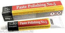 Plástico duro & Vintage Baquelita restauración y pulido de Pasta 60g Tubo