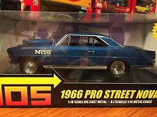 Ertl 1/18 1965 Pro Street 1966 Chevy Nova One Of 5000. Item 36985