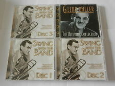 GLENN MILLER COLLECTION 'SWING WITH THE BAND' 3 x CD SET & ULTIMATE COLLECTION