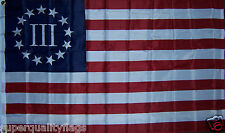 Nyberg Betsy Ross Flag 3x5 ft three 3 percenter percent better qualty USA SELLER