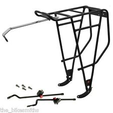 "Axiom FatLiner Fat Bike Rear Rack Black 26"" fits Disc Brake &up to 5"" tire 110lb"