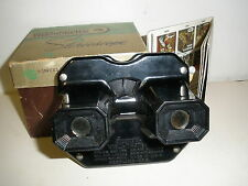 View-Master Stereoscope Viewer Original Box With Paperwork