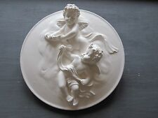 PRETTY SHABBY CHIC FRENCH COUNTRY  CHERUBS / /FURNITURE/ PLAQUE  MOULDINGS