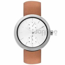 Michael Kors Authentic Watch MK2573 Garner Brown Leather Women's 39mm