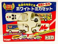 Tomy Tomica White DIY Paint Works Set - 30th Anniversary Limited - Hot Pick
