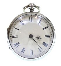 Antique Large c.1760 Fusee Verge Pocket Watch. Serviced