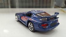 Dodge Viper GTS-R blu kinsmart auto giocattolo modello 1/36 scala