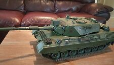 1/16 rc tank. Restored Tamiya Leopard 1A4. Old School at its Finest.