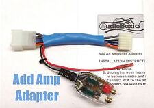 Add An Amp Amplifier Radio Adapter Interface for select Toyota- no JBL/Amp