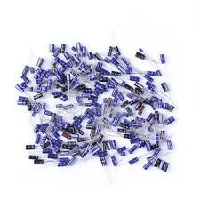210Pcs 25 Value 0.1uF-220uF Electrolytic Capacitors Assortment Kit Set  v#h9