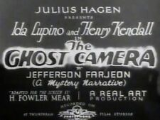 THE GHOST CAMERA.1933, classic IDA LUPINO, JOHN MILLS thriller: DVD-R:Region 2