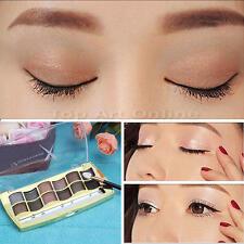 12 Couleurs Palette Ombre Fard à Paupières Yeux+Pinceaux Maquillage Eyeshadow