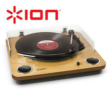 Ion Max LP Record Player Conversion Turntable Cassette RCA w/ Speakers  33 45 78