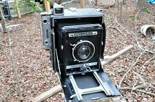 rough'n ready 4X5 Anniversary Graflex Speed Graphic with 135mm Zeiss Tessar lens
