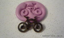 Mountain Bike Push Peddle Sport Silicone Mould, Sugarcraft, Cup Cake,  Crafts