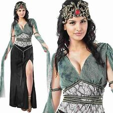 MEDUSA GRECIAN GODDESS GREEK FANCY DRESS COSTUME 10-16