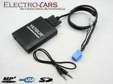INTERFACE MP3 USB AUDIO AUTORADIO COMPATIBLE PEUGEOT 206 CC 2004 - 2005