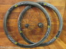 CYCLEOPS G3 POWER TAP 700C ENVE FULL CARBON 45MM CLINCHER 10 SPEED WHEEL SET