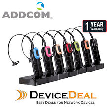 Addcom ADD-665 Wireless Headset For Yealink - Cisco - Policom - Avaya IP Phones