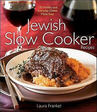 Jewish Slow Cooker Recipes by Frankel, Laura